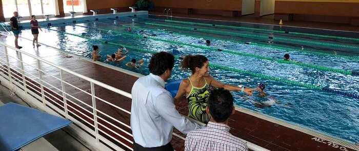 Más de 500 inscritos en los cursos de natación de verano de la piscina cubierta municipal Luis Ocaña de Cuenca