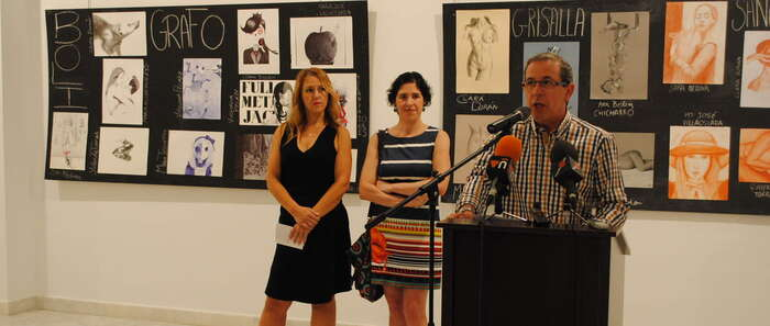 Los dibujos de la III Exposición 'Balbuenarte' ya se pueden contemplar en 'La Confianza'