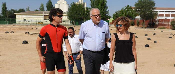 El nuevo Circuito de Bicicletas de Manzanares servirá como recurso educativo y aprendizaje en hábitos saludables