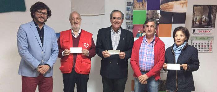 TURINFA saca su lado más solidario con la entrega de  donativos económicos a entidades sociales que trabajan en la localidad
