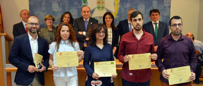 Pilar Zamora entrega los Premios de Investigación  del Colegio de Enfermería de Ciudad Real