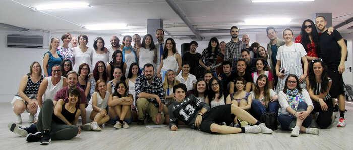 Musicaula pionera con 'Dancing Queen' en presentar un musical por completo en directo, el 4 de Mayo en el Quijano