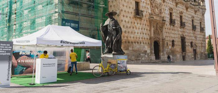 Llega a  Guadalajara la campaña de concienciación y activación  'Aclara la psoriasis'