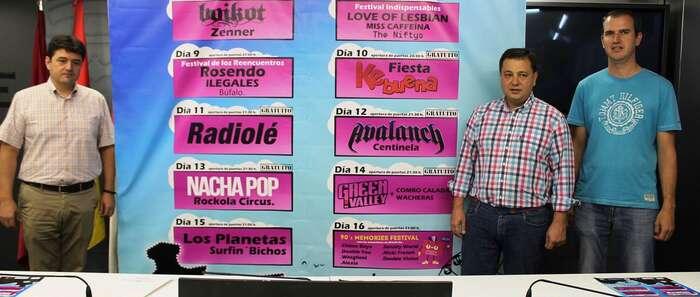 La programación del Recinto Viva la Feria combinará un gran abanico de estilos musicales que atraerán a un buen número de asistentes en Albacete