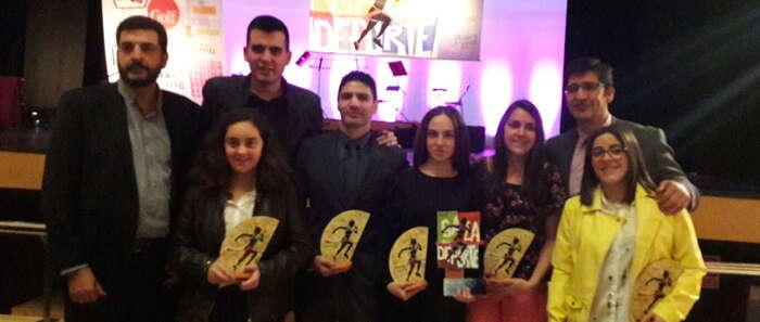 Nueve valdepeñeros, galardonados en la XII Gala Provincial del Deporte