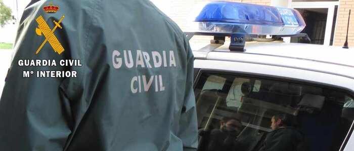 La Guardia Civil detiene a una persona, vecina de Miguelturra, por 15 robos en el interior de vehículos