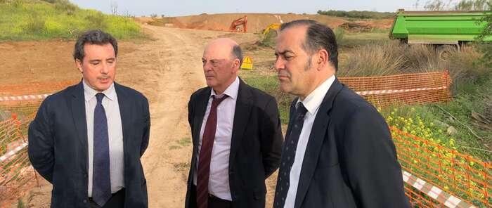 El presidente de la Confederación Hidrográfica del Tajo y el Delegado del Gobierno de Castilla – La Mancha visitan el arroyo Ramabujas