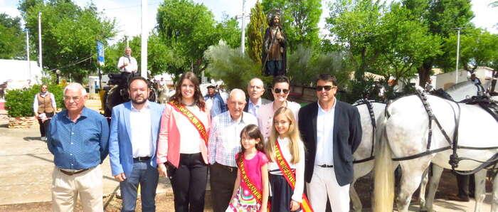 Buen fin de semana de romería en Manzanares