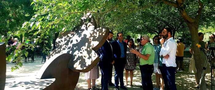 La Roda brinda 'Arte en la calle' en su Parque Adolfo Suárez