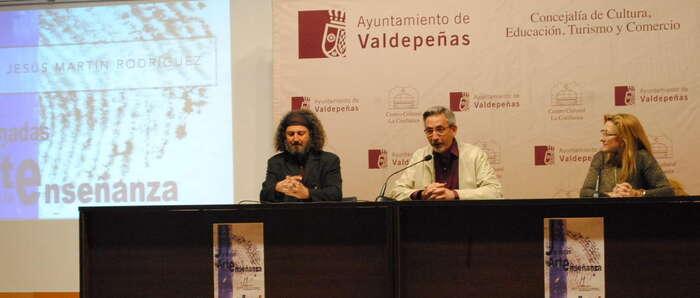 Jesús Martín inauguró las primeras 'Jornadas de Arte en la Enseñanza de Castilla-La Mancha'