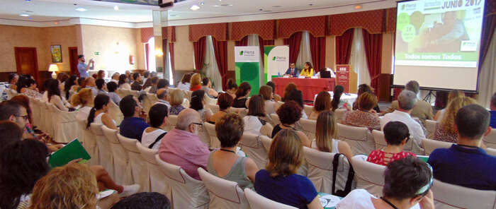 """Pilar Zamora inaugura la jornada  """"Todos somos todos"""" de Plena Inclusión"""