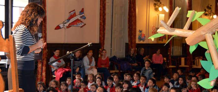 Pilar Zamora arranca el XIV Maratón de Cuentos  de Ciudad Real que reúne a 1.100 escolares