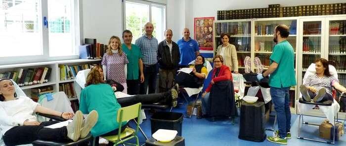 El Centro de Donación de Sangre del Hospital General Universitario de Ciudad Real se traslada a la biblioteca de los Marianistas
