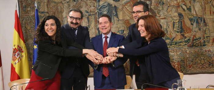 El Gobierno de Castilla-La Mancha y la Fundación Amancio Ortega firman un acuerdo para la adquisición de equipamiento tecnológico