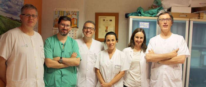 El Hospital Mancha Centro realiza una cirugía pionera en la región para eliminar cálculos en el conducto biliar de un paciente