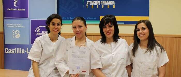 Enfermeras residentes de Toledo premiadas por un proyecto de investigación sobre la prevención y promoción de la salud en Atención Primaria