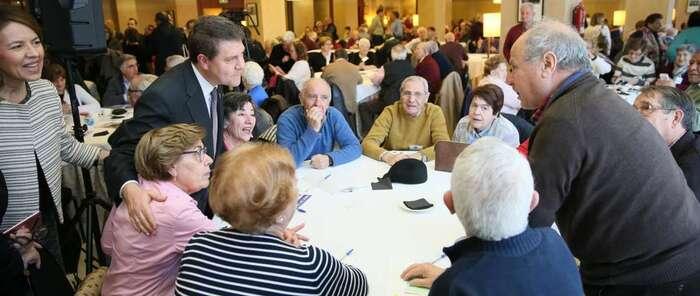 El presidente de Castilla-La Mancha reclama unidad política en torno a un acuerdo nacional que garantice el presente y futuro de las pensiones