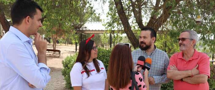 El Gobierno regional impulsa la formación de voluntarios apoyando proyectos como la escuela de verano 'Henry Dunant', organizada por Cruz Roja