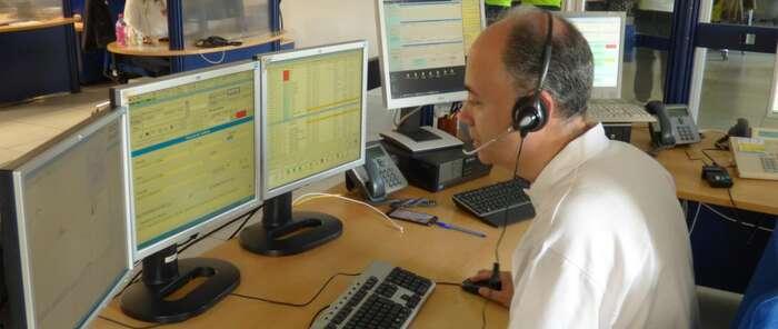 El Servicio de Emergencias 1-1-2 de Castilla-La Mancha gestionó cerca de 342.000 llamadas procedentes durante el primer semestre de 2018