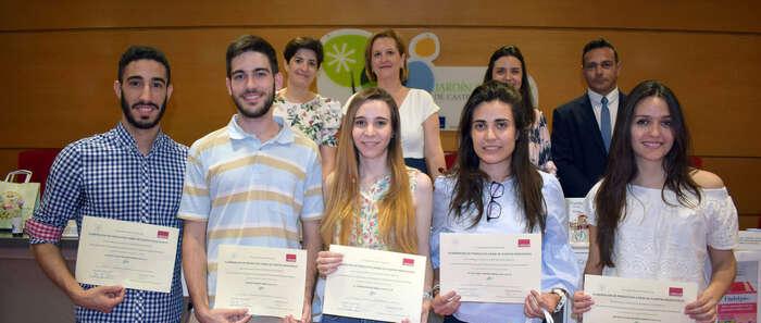 La empresa italiana Aboca vuelve a premiar a estudiantes de la UCLM por sus trabajos con plantas medicinales