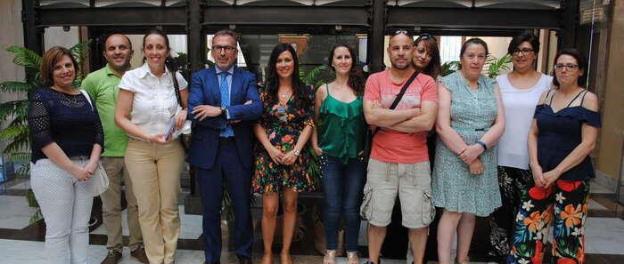 El taller de empleo de Valdepeñas presenta el blog 'Valdepeñas emprende'