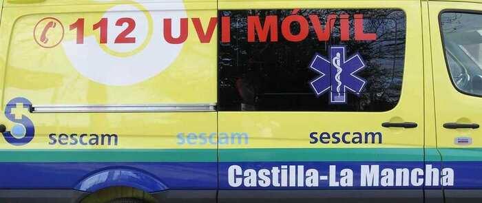 Un fallecido y un herido tras la colisión entre un turismo y un camión en Ocaña