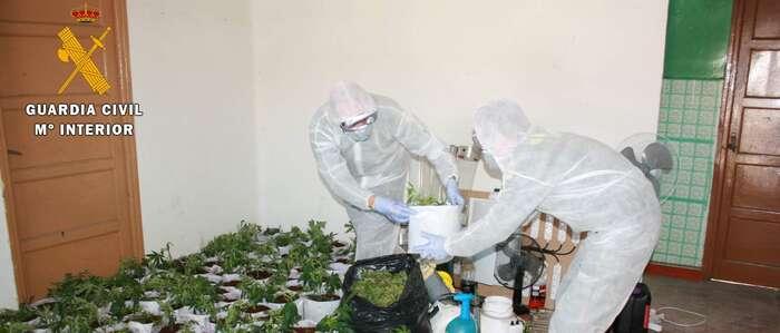 La Guardia Civil detiene a una persona por un delito tráfico de drogas en la localidad de Velada