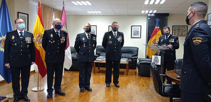 La Policía Nacional condecora a 19 Policías de Toledo y a 5 personas ajenas al Cuerpo por su extraordinaria colaboración con la institución