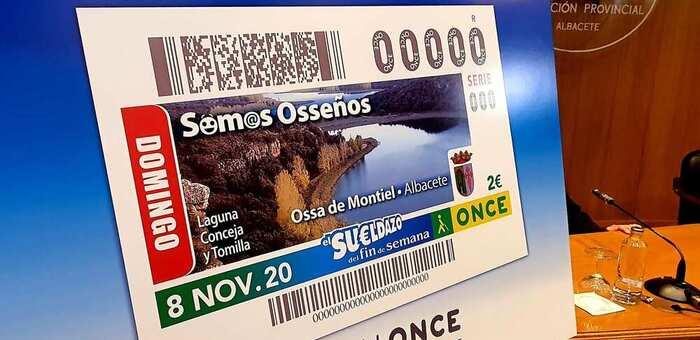 La Diputación acoge la presentación del Cupón de la ONCE que, el próximo domingo, 8 de noviembre, tendrá como protagonistas a osseños y osseñas