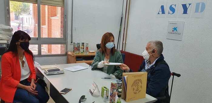 """La Diputación de Toledo respalda a la Asociación Sindrome """"Shy Drager"""" en su atención a las personas afectadas"""