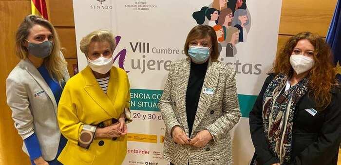 Carmen Quintanilla analiza la situación de las mujeres rurales durante la pandemia del coronavirus en la VIII Cumbre de Mujeres Juristas