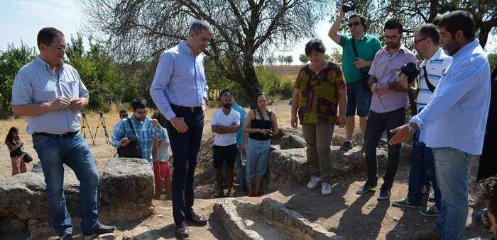 """El Gobierno de la diputación de Toledo financia la quinta campaña de excavaciones en el yacimiento visigodo de """"Los Hitos"""" en Orgaz"""