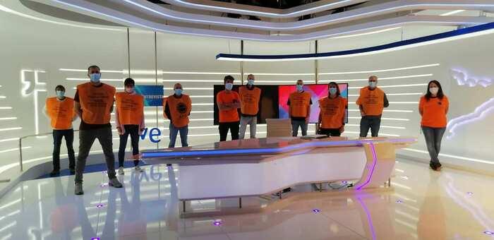 """Los trabajadores de RTVE contra la externalización """"pase lo que pase"""""""