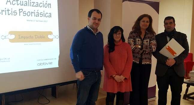 """La campaña """"Impacto Doble"""" llega a Toledo para formar a farmacéuticos toledanos en la identificación de los síntomas de la artritis psoriásica"""