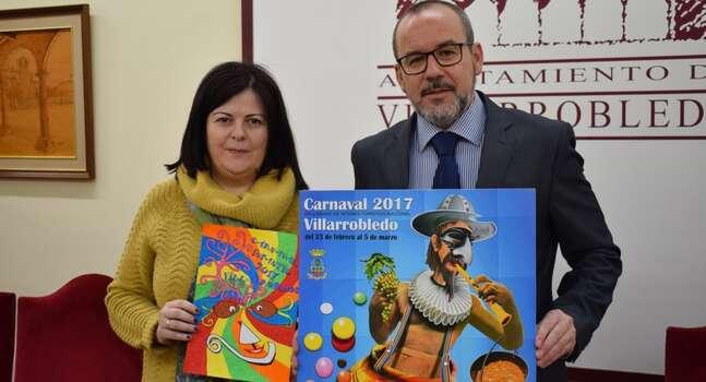 Presentados en Villarrobledo los carteles anunciadores del Carnaval 2017