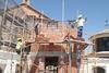 """imagen de Entra en la fase final la obra de réplica en Manzanares del Torreón """"Casa Josito"""""""