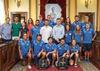 imagen de Román desea suerte al Club Alcarreño de Salvamento y Socorrismo en el Campeonato del Mundo