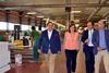 imagen de Puertas Uniarte recibió la visita de la consejera de Economía, Empresas y Empleo, Patricia Franco, por su 25 Aniversario