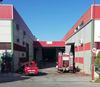 imagen de La rápida intervención de los Bomberos de Toledo evita la propagación de  un incendio declarado en una factoría del Polígono