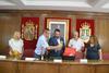 imagen de Una delegación de la localidad francesa de Pontonx sur L' Adour visita Azuqueca
