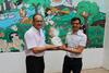 """imagen de Javier Cuenca se muestra """"muy satisfecho"""" por la oferta lúdico-formativa que ofrece la Asociación Desarrollo en su Escuela de Verano"""