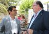 imagen de Javier Cuenca agradece a Manuel Caballero y a Pascual González Masegosa la gran labor que realizan a favor de la Fiesta de los Toros