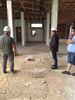 imagen de El Alcalde de Pedro Muñoz comprueba la evolución de las obras de la Residencia.