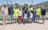 imagen de Dos jornadas de pádel de competición de la mano del primer torneo de la Peña Cachirulos