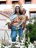 Talla de la Virgen adquirida en los años ochenta del pasado siglo XX de escaso valor artística
