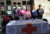 imagen de Carmen Bayod participa en la cuestación realizada por Cruz Roja