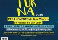 Piscina Nocturna, ocio alternativo juvenil para combatir el calor del verano en Alcázar