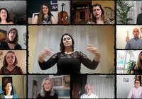 """La Agrupación Coral Universitaria de Ciudad Real presenta un vídeo """"confinado"""" de una canción sobre el valor de lo cercano"""