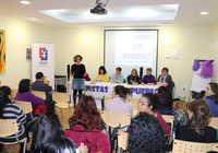 Gran acogida en Manzanares a 'Feministas de pueblo'