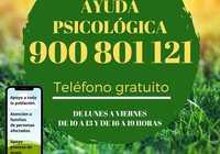 Este miércoles comenzará a prestar servicio en Ciudad Real la línea de atención psicológica gratuita 900 801 121